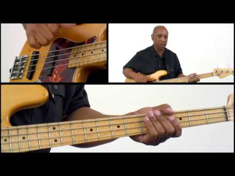 50 R&B Bass Grooves - #20 - Bass Guitar Lesson - Andrew Ford