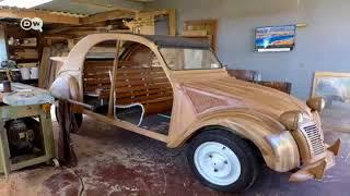 ستروين مصنوعة يدويا من الخشب | يوروماكس