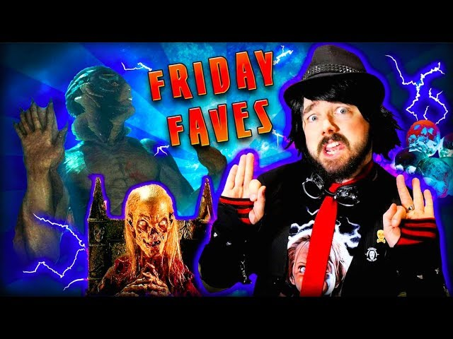FRIDAY FAVES VLOG with Onyx the Fortuitous! Ep 1 - The Shape of Water! Tales From the Crypt!