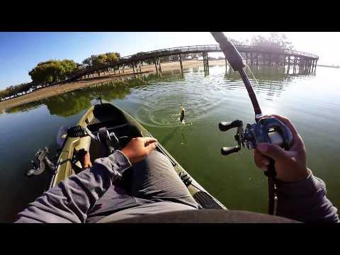 Kayak bass fishing youtube for Bass fishing youtube