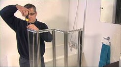 Aqualux Aqua 4 Fold Bath Screen Video Installation Guide