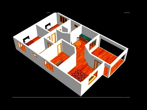 3d-small-home-design-plan-10-x-14m-3-bedroom-with-american-kitchen-2020