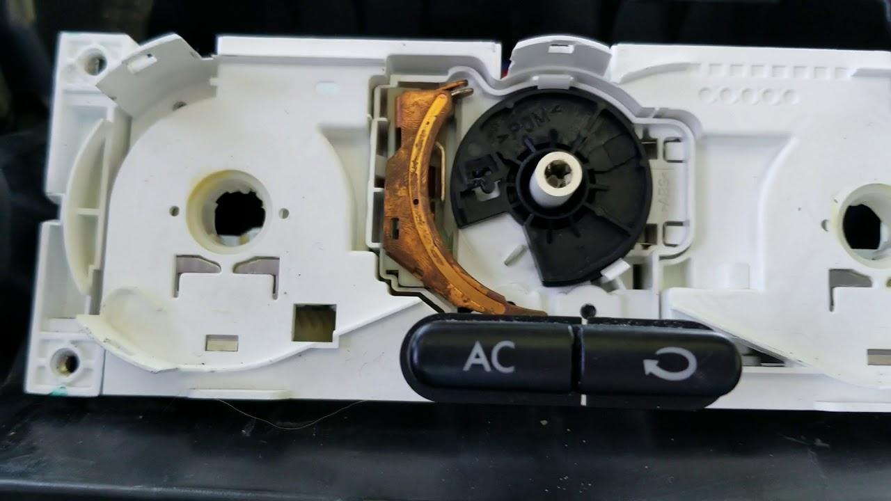 Fixing A Broken Fan Sd Switch In 2000 Vw New Beetle