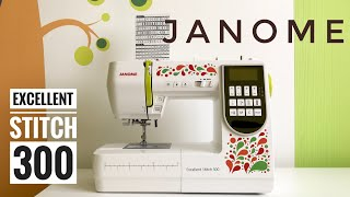 видео Janome Швейная машина Clio 200