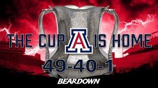 Arizona Runs Over ASU, Wins Territorial Cup Highlights