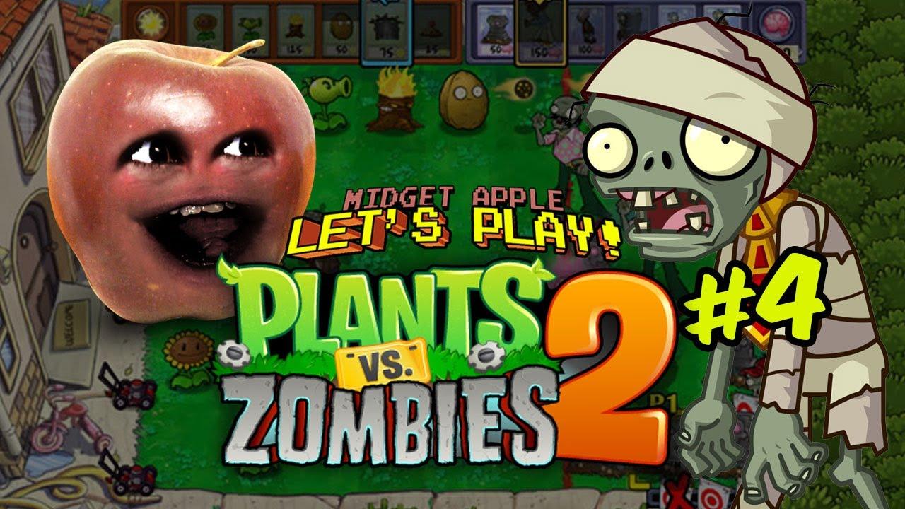 Annoying Orange Vs Plants Vs Zombies | Annoying Orange ...