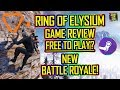 Ring Of Elysium PC Game Review - Free To Play 🔴 NEW BATTLE ROYALE 2018!