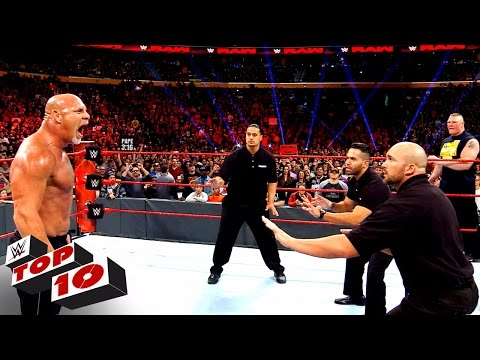 Thumbnail: Top 10 Raw moments: WWE Top 10, Nov. 14, 2016