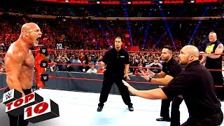 Download Top 10 Raw moments: WWE Top 10, Nov. 14, 2016 Mp3 and Videos
