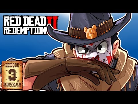 EPIC BAR FIGHT & HUNTED A LEGENDARY BEAR! - RED DEAD REDEMPTION 2 - Ep. 3!