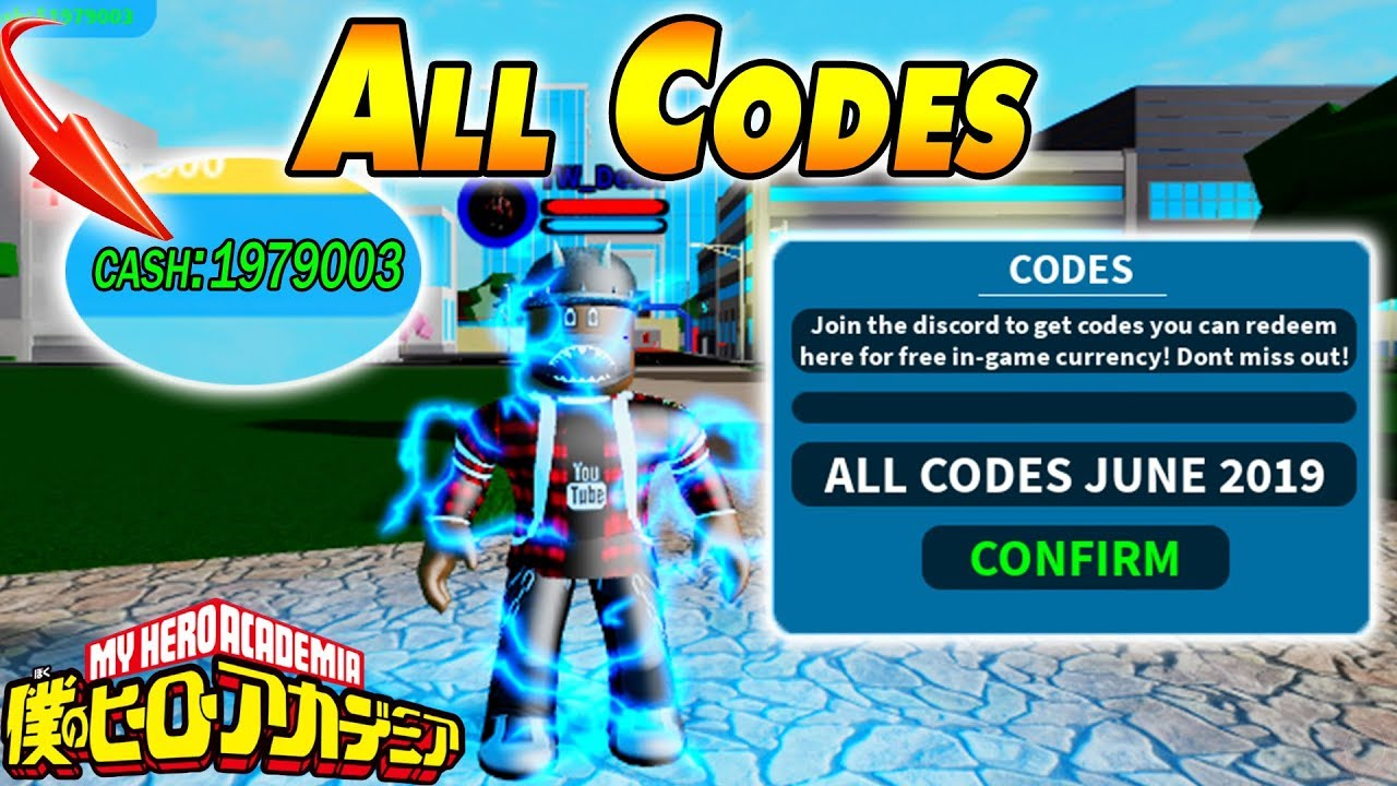 All Codes June 2019 Boku No Roblox Remastered Youtube
