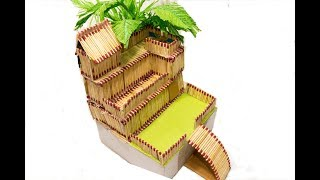 Match Stick House | How to Make a Match House with Glue by AB Crafts