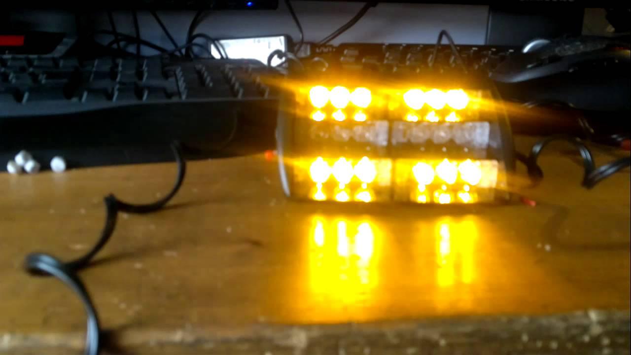 flitslamp werkverkeer