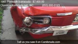 1965 Plymouth Barracuda Fastback - for sale in , NC 27603 #VNclassics