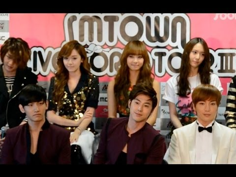 [Exclusive] SM Town Live World Tour III in Los Angeles Press Conference