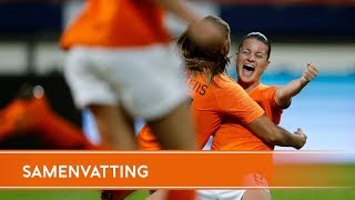 Samenvatting Nederland - Slowakije (12/6/2018)
