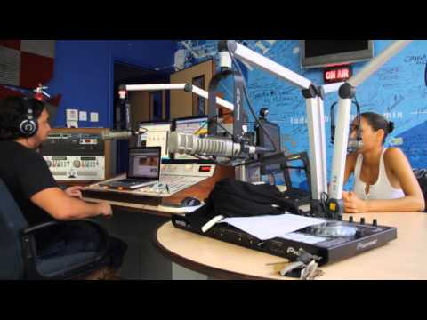 Mix 96 On air interview with Vita Chambers in Barbados