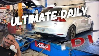 TDI Turbo install and DYNO! PROJECT DAILY DIESEL