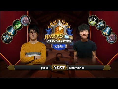 Posesi vs lambyseries   2021 Hearthstone Grandmasters Asia-Pacific   Top 8   Season 1   Week 5