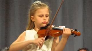 Vivaldi Concerto G-dur 1-2-3 by Yulia Trokhymuk Юля Трохимук