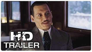 MURDER ON THE ORIENT EXPRESS Trailer #2 NEW (2017) Johnny Depp Crime Fiction Movie HD