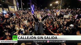 Sexto Día Consecutivo De Protestas En Cataluña