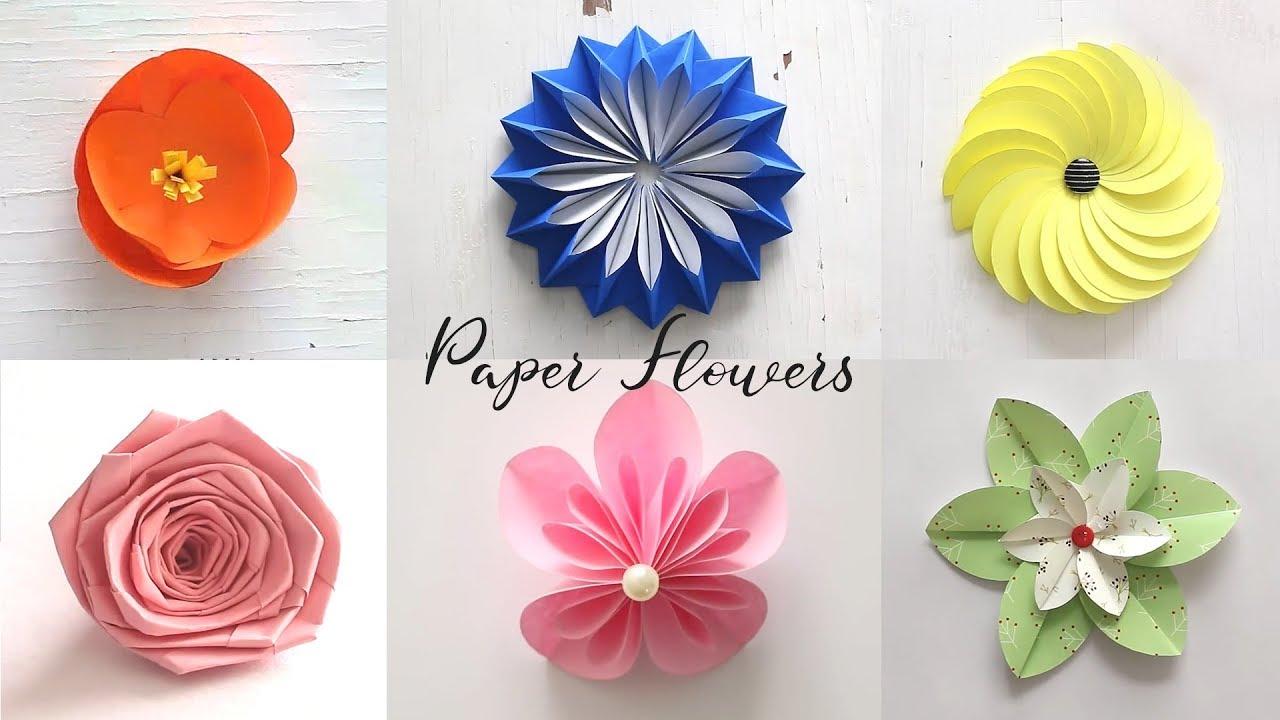 craft ideas for making flowers best of last summer 6 easy paper flowers diy craft ideas 6204