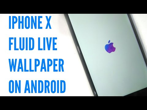 How To Get Iphone X Fluid Live Wallpaper On Any Android Youtube