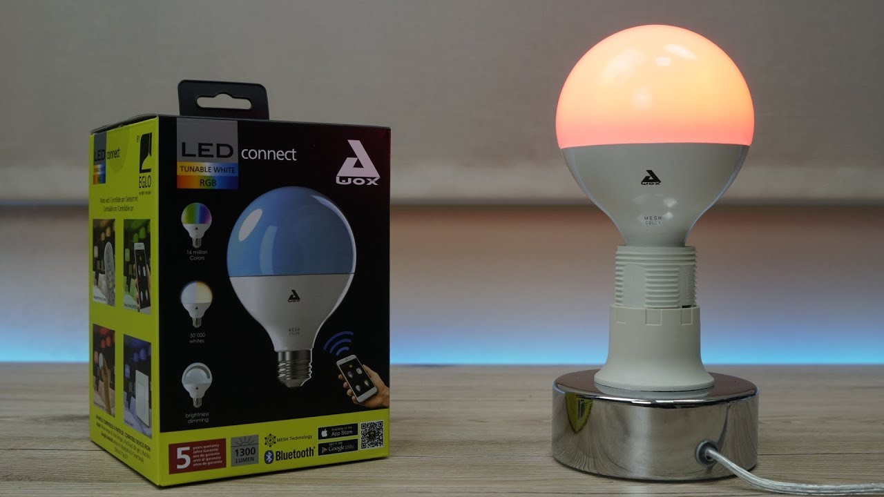 WhitesConnect Lâmpada Led Eglo Rgbtunable Unboxing jc34RA5LqS