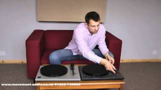 Rega RP1  & RP1 Performance review and comparison by Movement Audio (Poole & Salisbury)