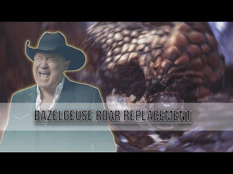 【Monster Hunter World】Mod for Replacing Bazelgeuse's Roar with Big Enough Scream Meme thumbnail