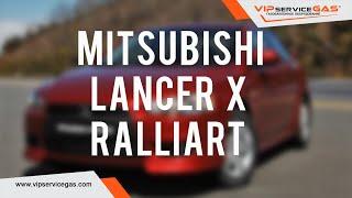 Гбо на Mitsubishi Lancer X Ralliart 2.0 Turbo 4WD 300 hp stage 1. Газ на Митсубиси Лансер Раллиарт.