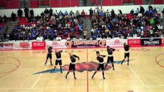 "Oaks Christian Dance Team - ""Shawty Get Loose"" bball game 3/19/201"