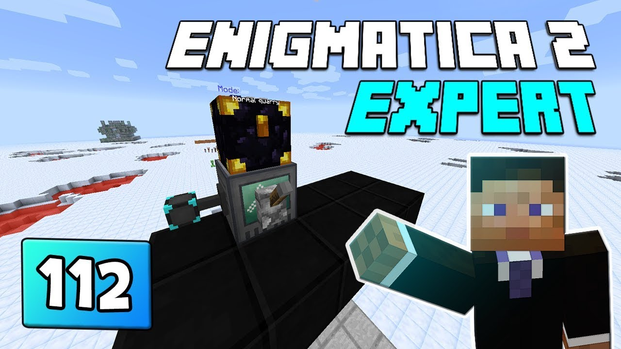 Enigmatica 2: Expert Mode - EP 112 Endgame Dimensions