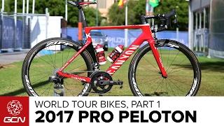 Bikes Of The 2017 Pro Peloton Part 1