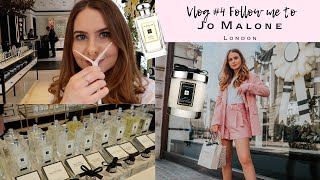 Follow me to my first Jo Malone London event! VLOG #4.