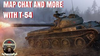 Map Chat & More with the T 54 World of Tanks Blitz