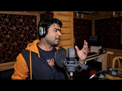 Superhit Song - अखिया बा नम हो - Alok Kumar - During Recording - live studio !!