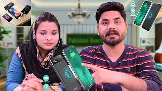 SANAG Wireless Portable Charger, 10000mAh Wireless Power Bank Charger Review By Pakistani Reacts
