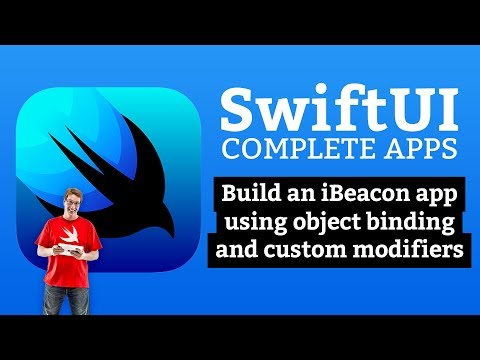 SwiftUI Tutorial: Build an iBeacon detector with object binding and custom modifiers thumbnail