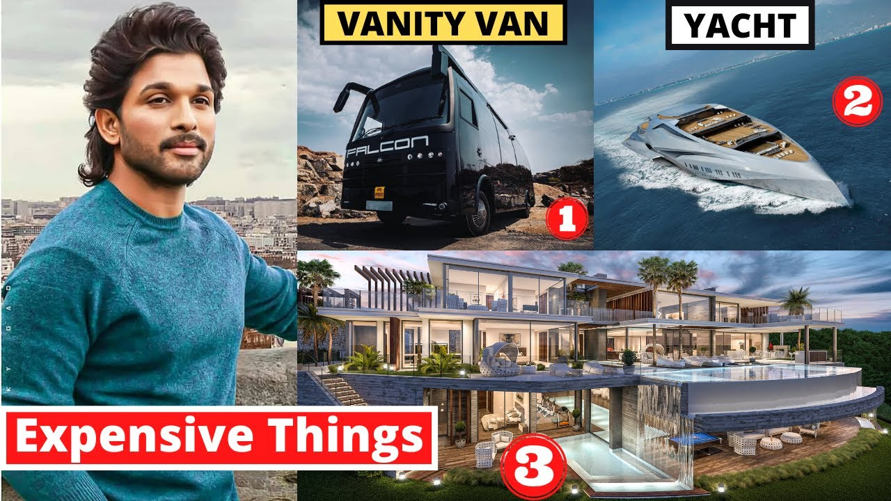 10 Most Expensive Things Allu Arjun Owns - MET Ep 7