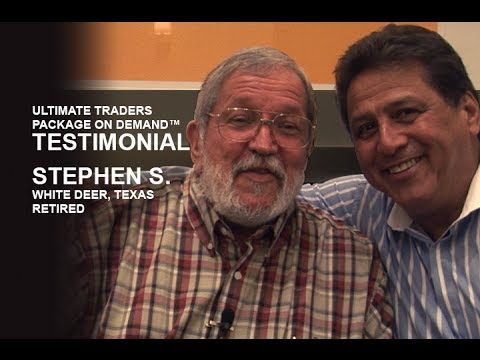 Ultimate Trader Package on Demand Testimonial | Stephen S.