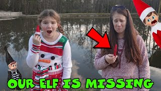 Our Elf Is Missing! Wнo Took Ellie Sparkle! Save the Elf On The Shelf