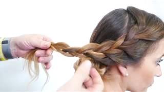 Tutorial Acconciatura sposa, Moda capelli, wedding day