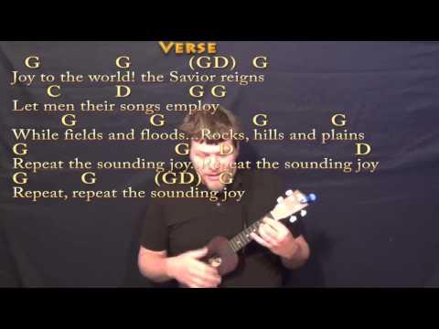 Joy To The World - Ukulele Cover Lesson in G with Chords/Lyrics