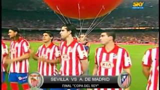 Sevilla vs Atletico De Madrid 2 0 FINAL Copa Del Rey 2010 ،SEVILLA CAMPEON! 19 05 10