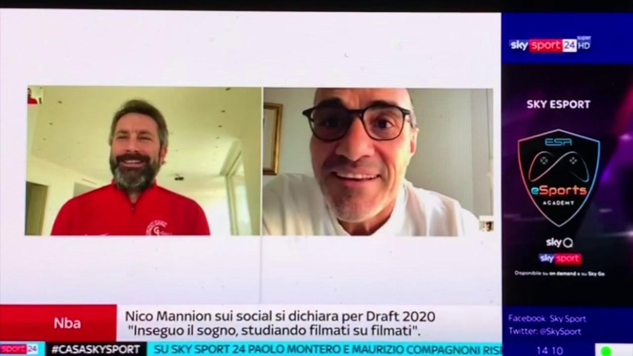 L'allenatore Paolo Montero su Skysport - YouTube