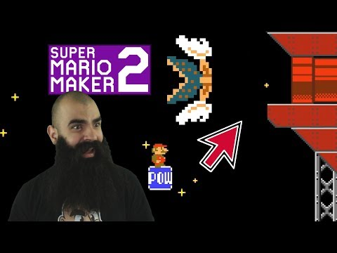 Getting Ambitious with some Hard Mario Maker 2 Levels