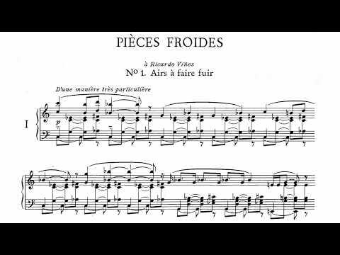 Erik Satie ~1897~ Pièces Froides, Airs à faire fuir, n°1