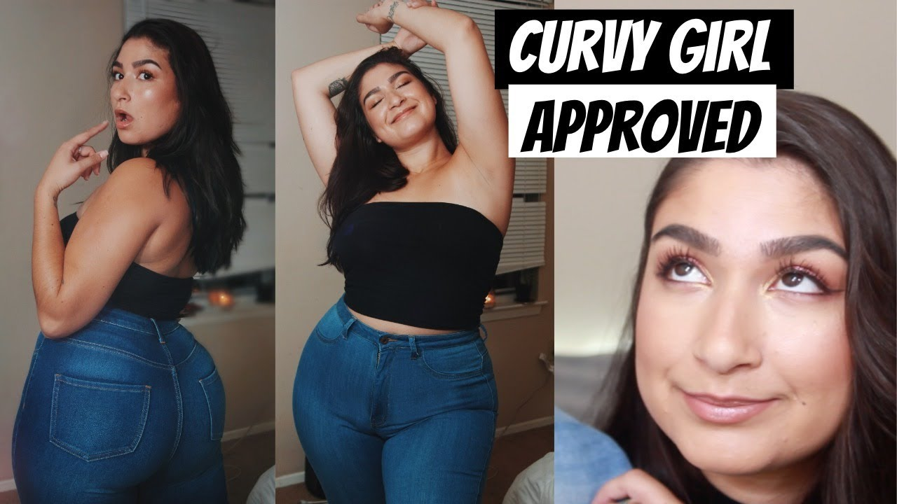 Chubby Girl Friendly Jeans  Monotiques Try-On Haul - Youtube-3265